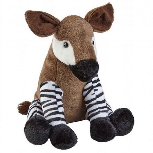 30cm Sitting Okapi Cuddly Soft Toy - Gift Idea - Plush Toy