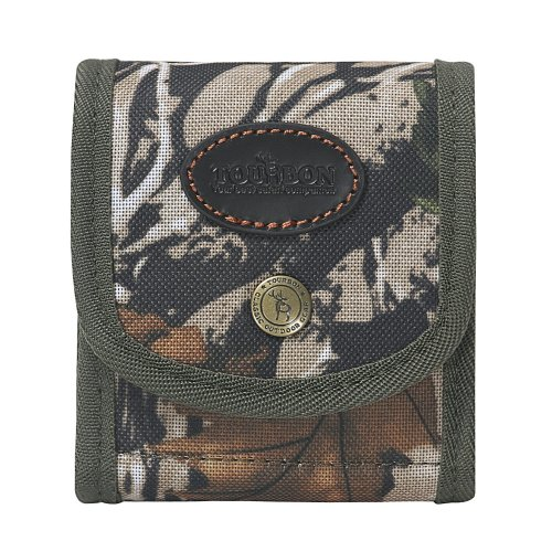 TOURBON Camouflage Rifle Cartridge Holder With Belt Loop Ammo Shell Pouch 10 Round (eg.222 REM,308WIN,30-06,375H&H MAG)