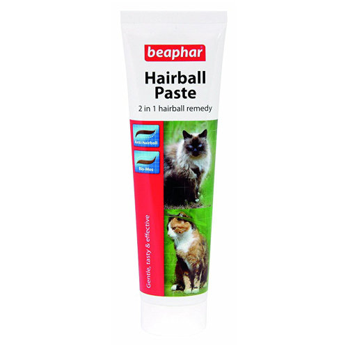 Beaphar Hairball Paste for Cats 2 in 1 Remedy 100g