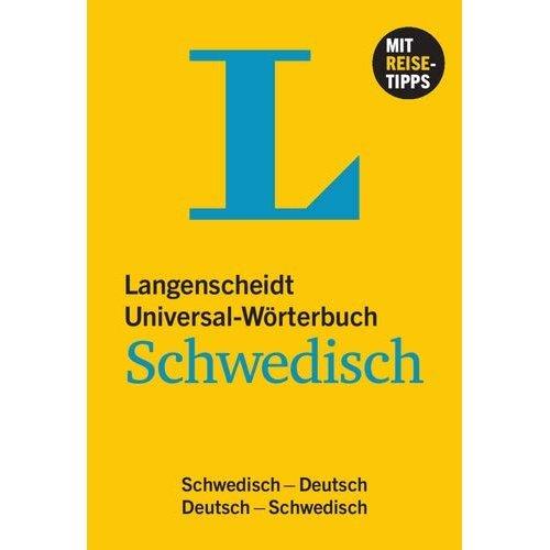 Langenscheidt Universal-Wörterbuch Schwedisch: Schwedisch-Deutsch / Deutsch-Schwedisch