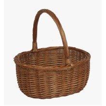 Shopping Basket Double Steamed Oval Shopper