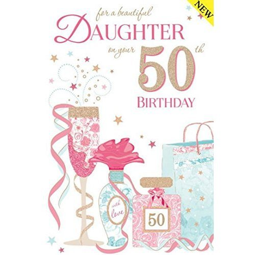 Daughter 50th Birthday Card On OnBuy