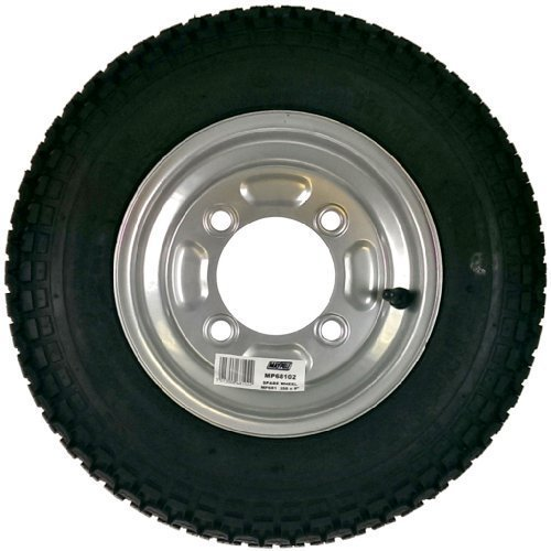 Maypole 68102 Spare Wheel - x Trailer Mp6810 Tyre 350mm Mp711 8in Erd 1022 -  maypole wheel x trailer mp6810 tyre 350mm spare mp711 68102 8in erd 1022