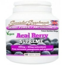 Specialist Supplements - Acai Berry Supreme Veg Caps 100
