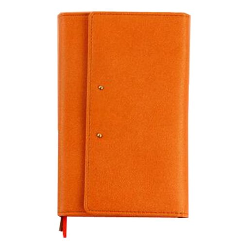 Office Personal Organizer Notebook Portable Planner Mini Pocket Schedule Orange