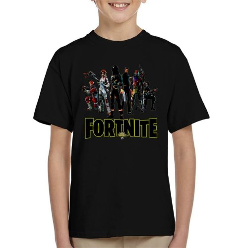 Fortnite Battle Royale Astronaut John Wick And More Skins Kid's T-Shirt