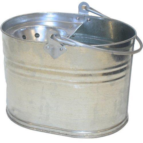 Galvanised Mop Bucket Oval Heavy Duty