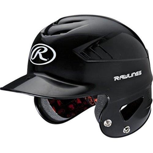 Rawlings RCFH-B Coolflo NOCSAE Molded Batting Helmet - Black, One Size