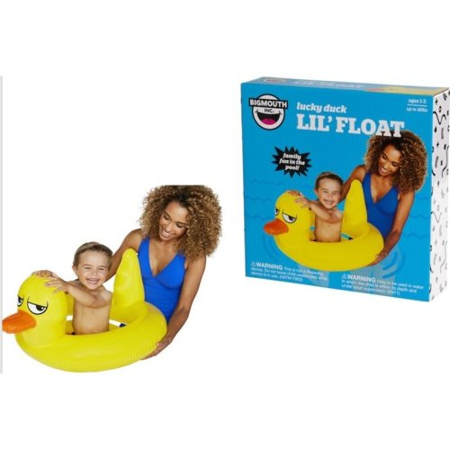 BigMouth Inflatable Lil' Duck Pool Float Beach Holiday Swimming Water Beach