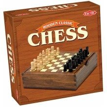 Wooden Classic Chess (tactic Games)