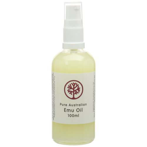 100ml Bottle of Pure FREE RANGE Australian EMU Oil