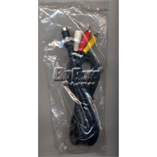 Sega Genesis 2 3 32x Nomad 9-pin Av Cables Video NEW