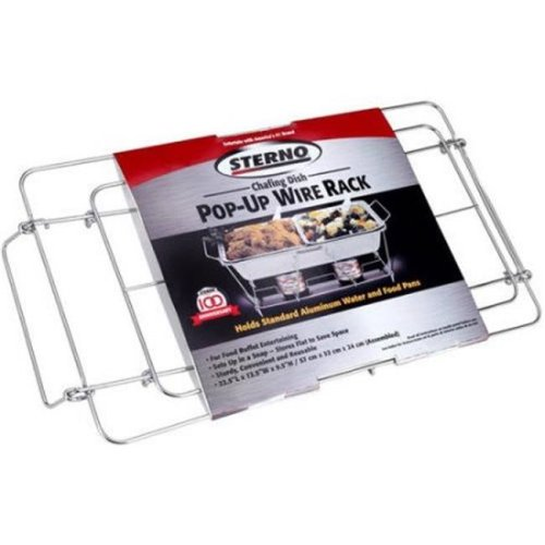 Sterno 70144 Pop-Up Wire Chafing Rack