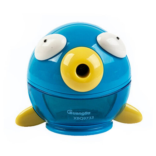 Cute Bubble Fish Manual Pencil Sharpener For Office And Classroom