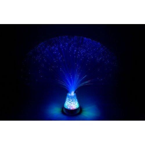 Fibre Optic Ice Lamp Gifts Funtime Blue Fibre Optic Ice Lamp Gifts Funtime Blue