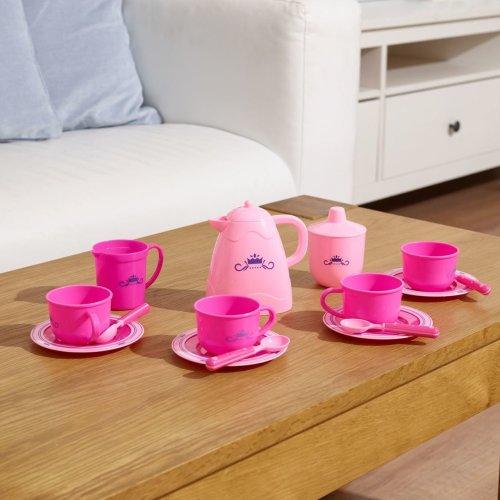 Vinsani Tea Party Set Kitchen Food Set Pretend Play Kids Learning Exploration