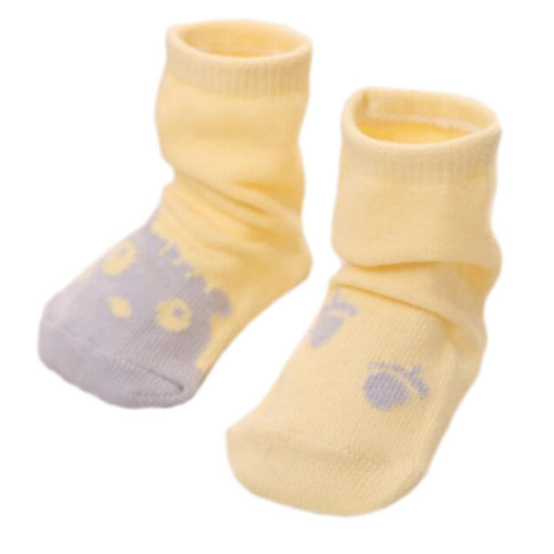3 Pairs of Non-slip Newborn Baby Toddler Socks Warm Non-skid Stockings Baby Birthday Gift For 1-3 Year Baby-A08
