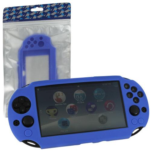 Protective case for PS Vita 2000 Slim Sony SC-01 silicone skin ZedLabz – blue