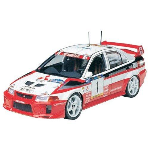 Tamiya 3000242031: 24Mitsubishi Lancer Evo V WRC