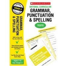 Grammar, Punctuation and Spelling Test - Year 3: Year 3