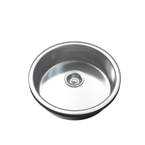 1091 1.0 Single Bowl Undermount Stainless Steel Kitchen Sink and Waste