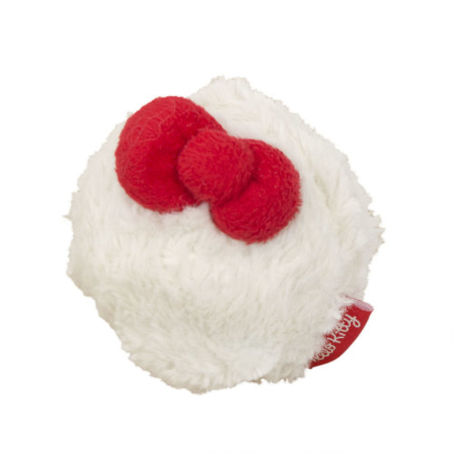 Hello Kitty Fur Ball Cat Nip Toy 3 Pack (Pack of 12)