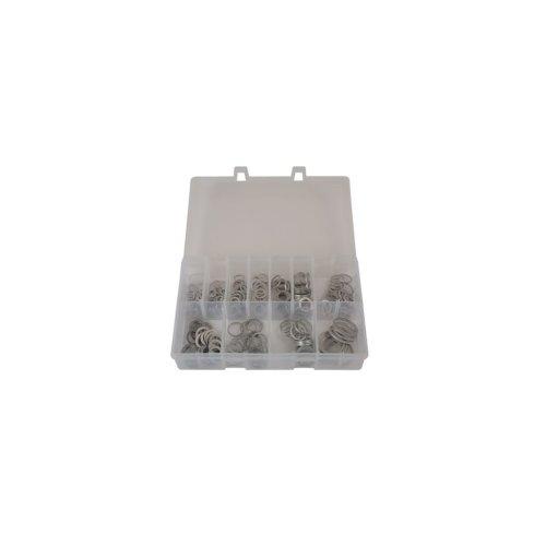 Aluminium Washers - Assorted - Box 260