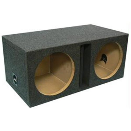 ATREND E12DV DUAL VENTED ENCLOSURE with DIVIDED CHAMBERS 12