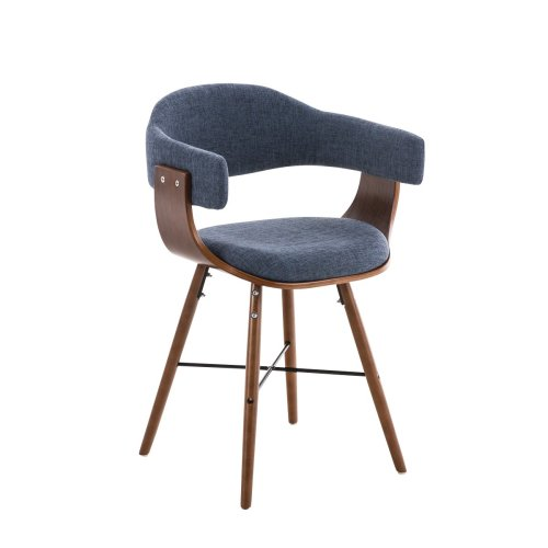 Peachy Visitor Chair Barrie Fabric Walnut V2 Pabps2019 Chair Design Images Pabps2019Com