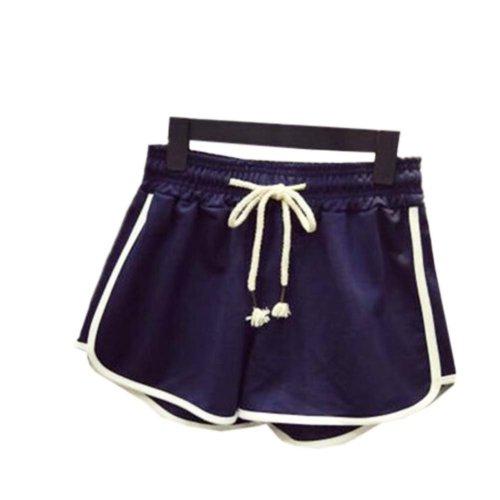 Women's Hot Active Wear Lounge Shorts Elastic Waist Gym Pants,#A 3