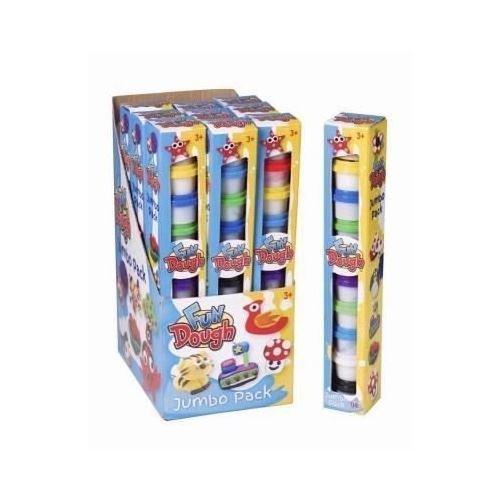 10 x Tubs of Fun Play Dough Kids Game Jumbo Pack Art Craft Party Bag Fillers