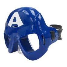 Avengers Swim Mask - 2 Assorted Designs. - Marvel Swimming Goggles One Size -  marvel avengers swim mask swimming goggles one size official captain