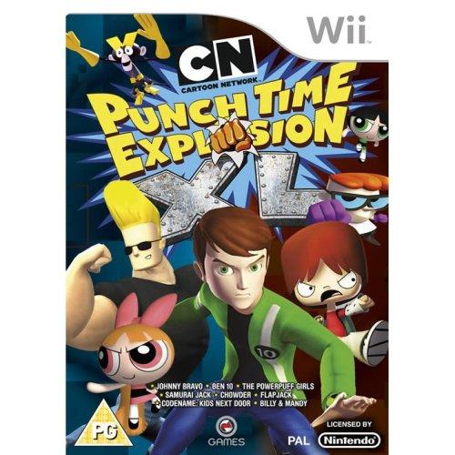 Cartoon Network Punch Time Explosion XL Nintendo Wii
