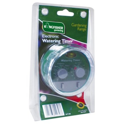 Watering Electronic Timer -  electronic timer water garden kingfisher automatic irrigation watering system fits