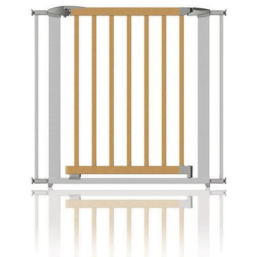 Clippasafe Extendable Wood & Metal Stair Gate 72.5 - 95cm