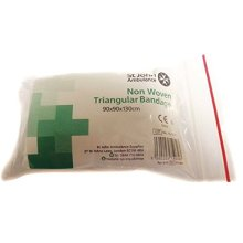 St John Ambulance 90 x 90 x 130cm Disposable Triangular Bandage
