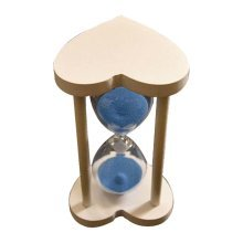 Creative Wooden Heart-shaped Hourglass 30 Minutes Sand Glass Timer,B3