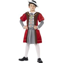 10-12 Years Boys Horrible Histories Henry Viii Costume -