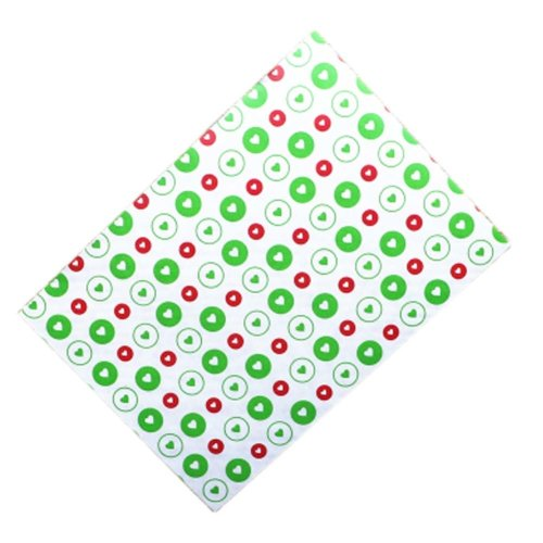 100 Pcs Nougat Making Wrappers Paper Christmas Candy Wrapping Twisting Wax Papers, 13