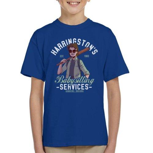 Stranger Things Harringtons Babysitting Agency Kid's T-Shirt