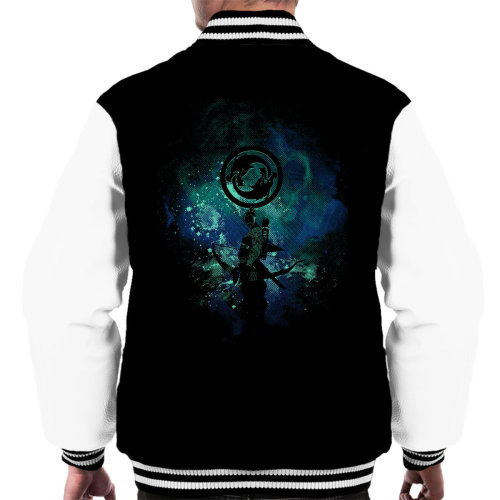 Hanzo Art Overwatch Men's Varsity Jacket