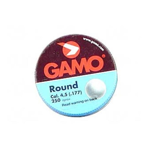 Gamo 632032454 Roundball Bb 177Bb Lead Tin 250 & Pack