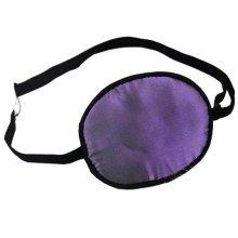 Adult Kids Amblyopia Strabismus Lazy Eye Adjustable Soft Pirate Eye Patch Single Eye Mask (Kids) ,g