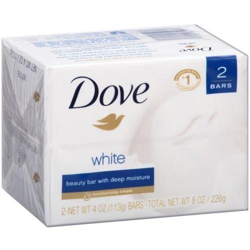 Dove White Beauty Bar, 8 Ounce - 12 per case.