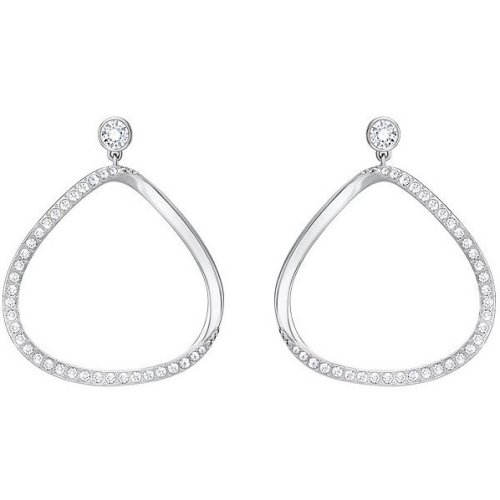 Swarovski Gaya Pierced Earrings - White - 5279795