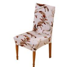 Home&Office Antifouling Chair Cover Hotel Chair Set Elastic Chair Decor-A6