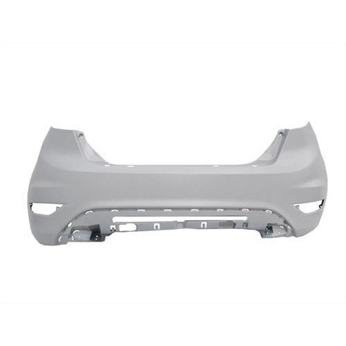 Ford Fiesta 3 Door Hatchback  2008-2012 Rear Bumper Primed (Standard Models)