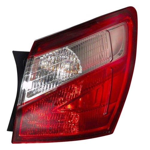 Nissan Qashqai 4/2010-> Rear Tail Light Drivers Side O/s