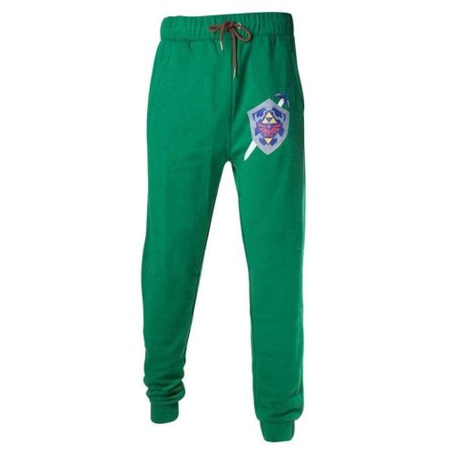 The Legend of Zelda Hyrule Shield Tracksuit Trousers - Green X-Large