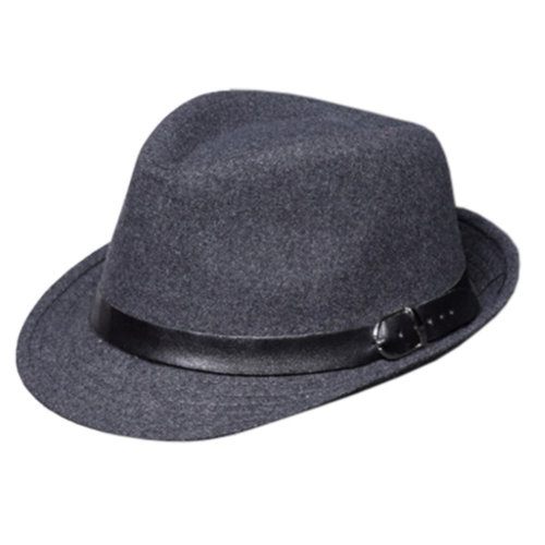 Unisex Kids Fedora Hat Bucket Hat, Lightweight Cap Sunhat Grey A